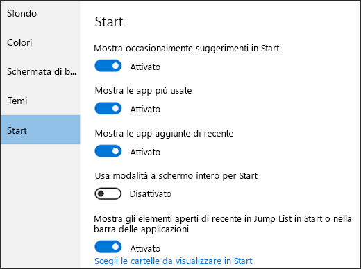 Come personalizzare il menu Start: tutte le nuove funzioni