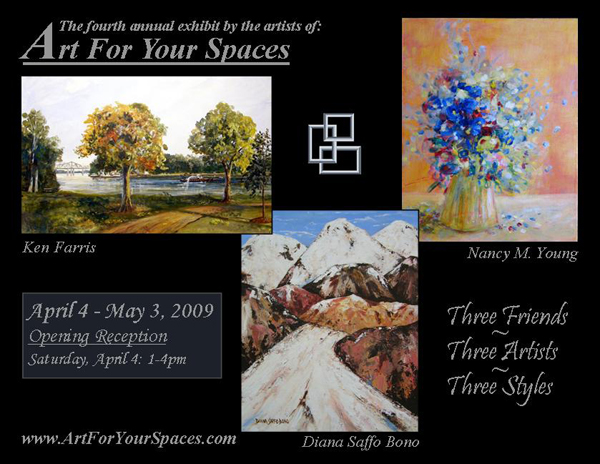 Art For Your Spaces: 4th Annual Exhibit