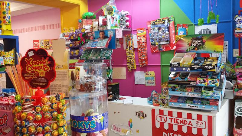 interior de la tienda, Dulcimundo