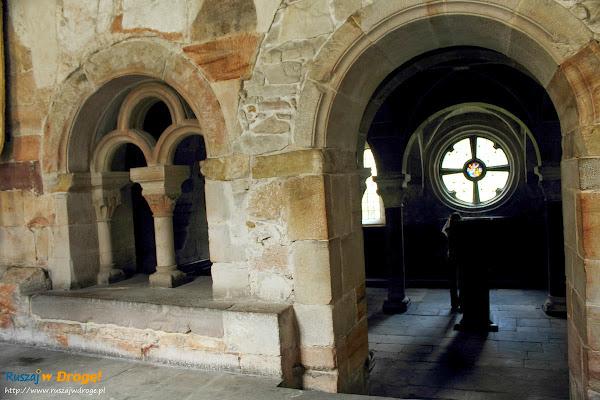 Kapitularz w klasztorze w Wąchocku