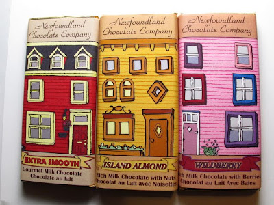 Newfoundland Chocolate Company chocolate bars