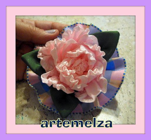 artemelza - rosa em gorgorão