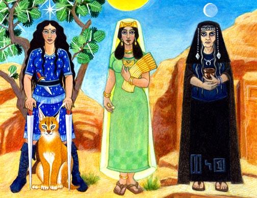 Goddess Al Lat Image
