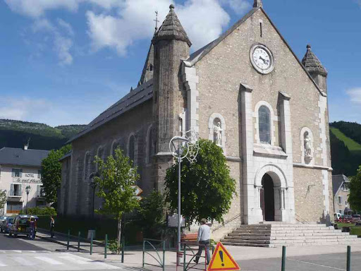 L'église de Lans-en-Vercors
