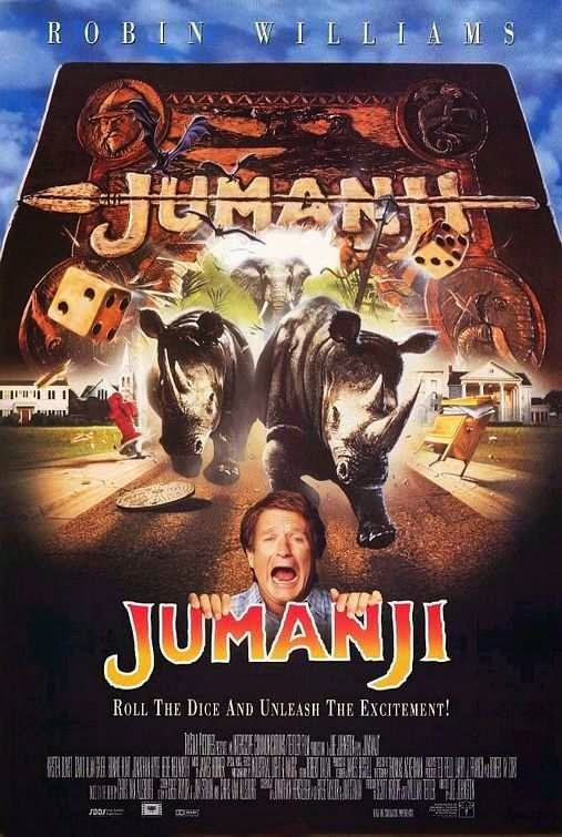 Poster Of Jumanji (1995) Full Movie Hindi Dubbed Free Download Watch Online At alldownloads4u.com