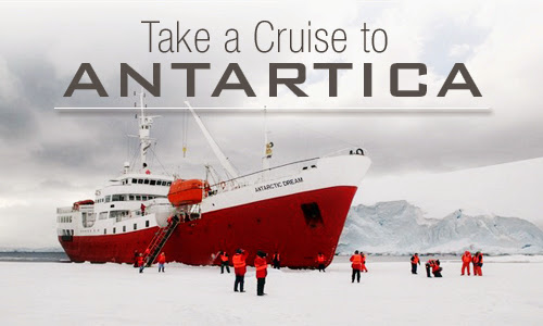 Take a cruise to Antartica