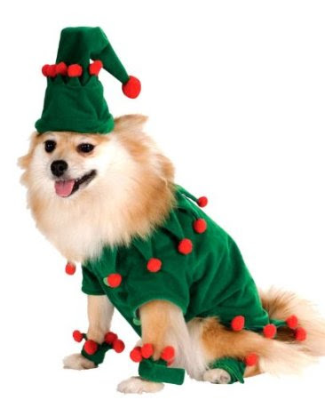 Elf Pet Costume (Pet Small)