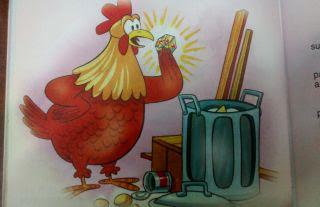 La gallina y el diamante fabulas para niños
