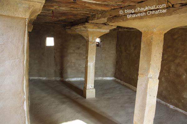 Kuldhara Village in Jaisalmer - Kitchen of a Rebuilt House