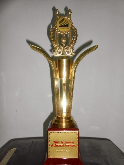 Cúp vàng thương hiệu nổi tiếng 2013