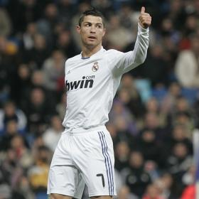 Cristiano has fallen from the injury he suffered against Malaga