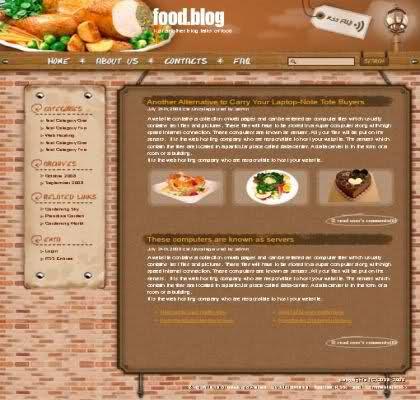 to go menu template free - flavor premium restaurant wordpress theme