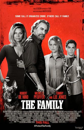 Επικίνδυνη Οικογένεια The Family Poster