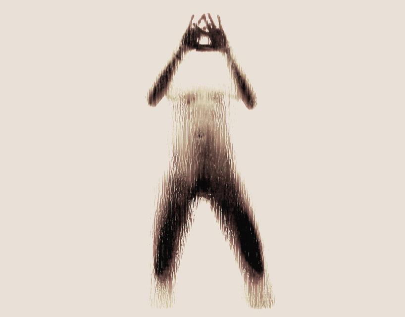 *女性裸體字母剪影:希臘藝術家Anastasia Mastrakouli 解剖人體視覺奧秘! 2