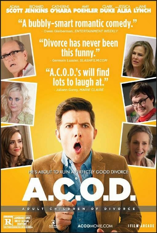 Poster Of English Movie A.C.O.D. (2013) Free Download Full New Hollywood Movie Watch Online At Alldownloads4u.Com