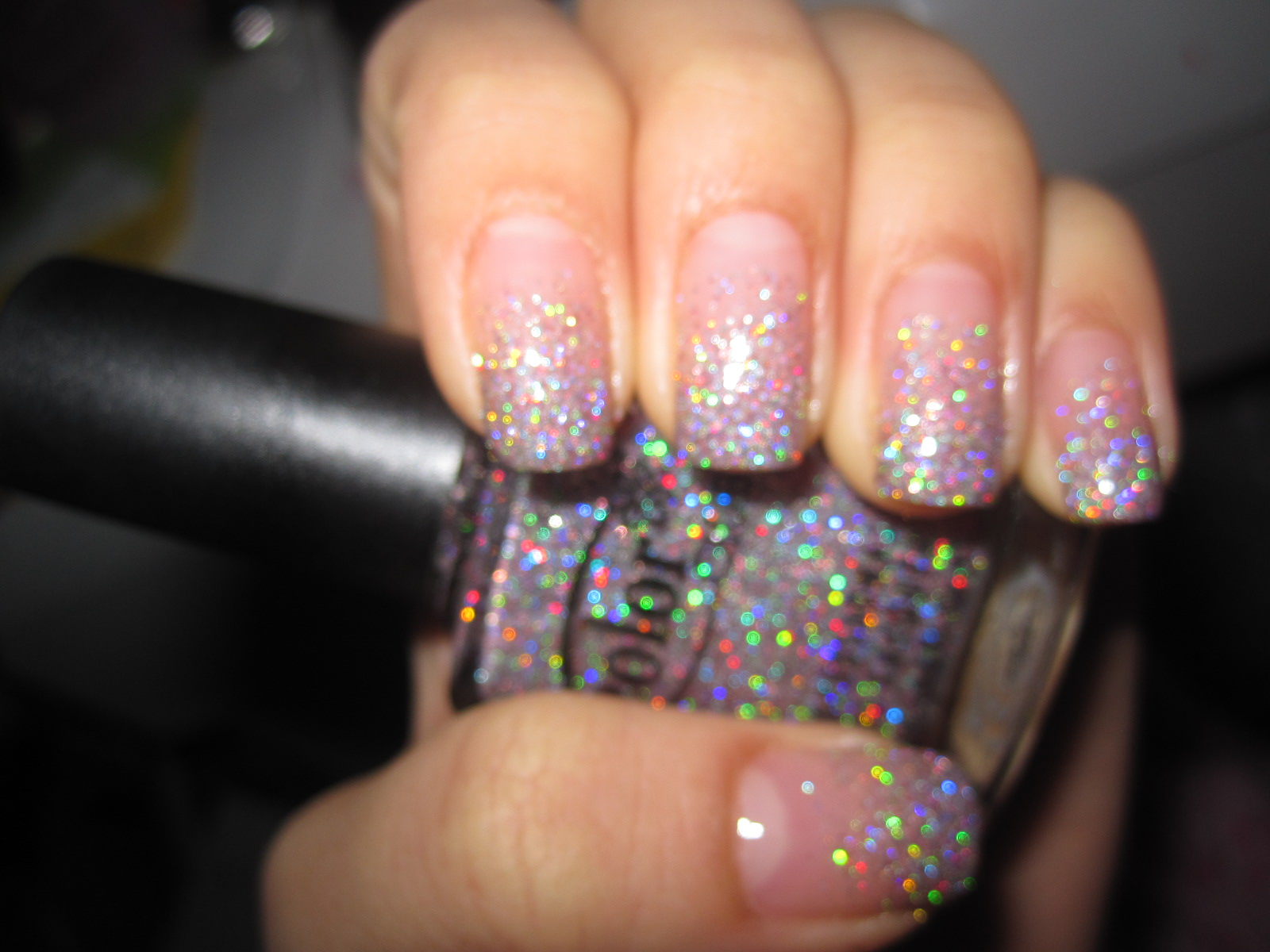 Jelly\'s Nails: Glitter Gradient Nails