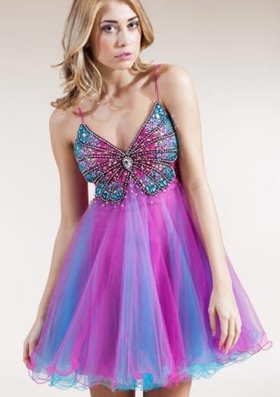 Inspiração borboletas - vestido