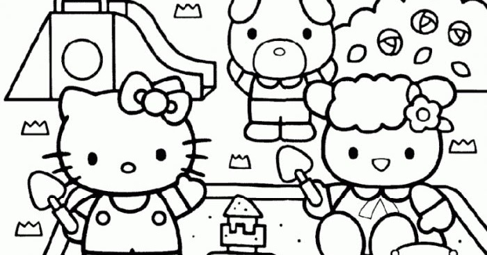 Coloriages a imprimer coloriage hello kitty a imprimer - Coloriage hello kitty gratuit ...