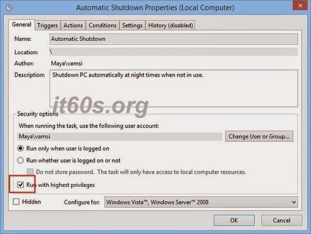 Cách lên lịch tự động tắt máy tính định sẵn trên Windows 9