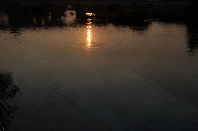 olejová škvrna na Mekong