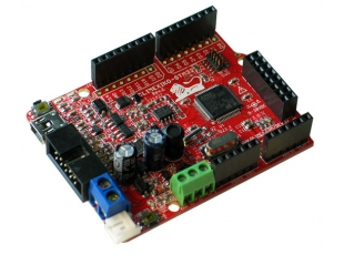 javascript interpreter for olimexino stm32
