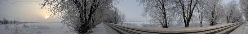 зимова дорога біля с.Солтанівка