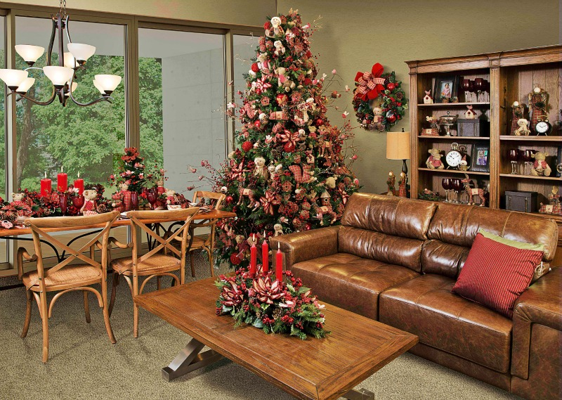Decoracao De Sala Natal ~ Ideias de decoração de Natal