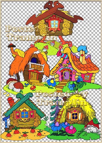 ��������� ������� � Fairy-tale lodges