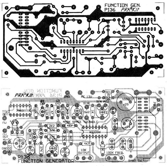XR 2206 PCB