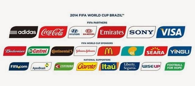 Brasil 2014 también será el mundial de las marcas