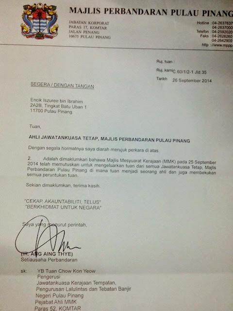 DAP Pulau Pinang Pula Buat Hal?