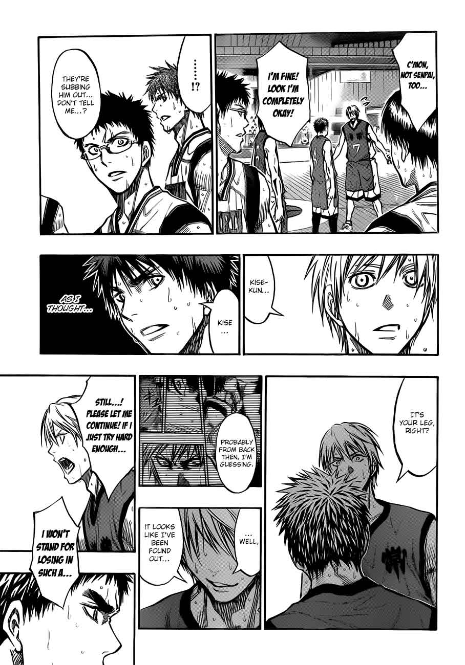 Kuroko no Basket Manga Chapter 190 - Image 11