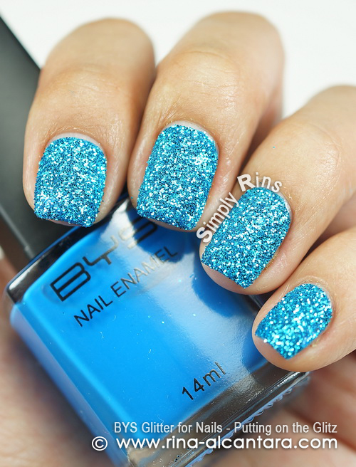 BYS Glitter for Nails - Putting on the Glitz