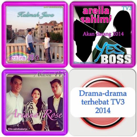 Drama-drama terhebat TV3 sepanjang 2014