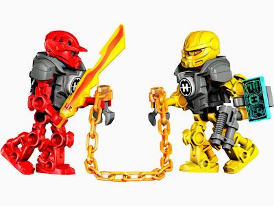 Furno và Evo với vũ khí và phụ kiện