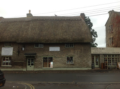 Our Beautiful Thatched Shop From 1671 With 3 Large Showrooms