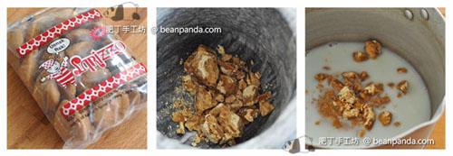 椰糖香蕉麵包布甸Coconut Bread Pudding_step01