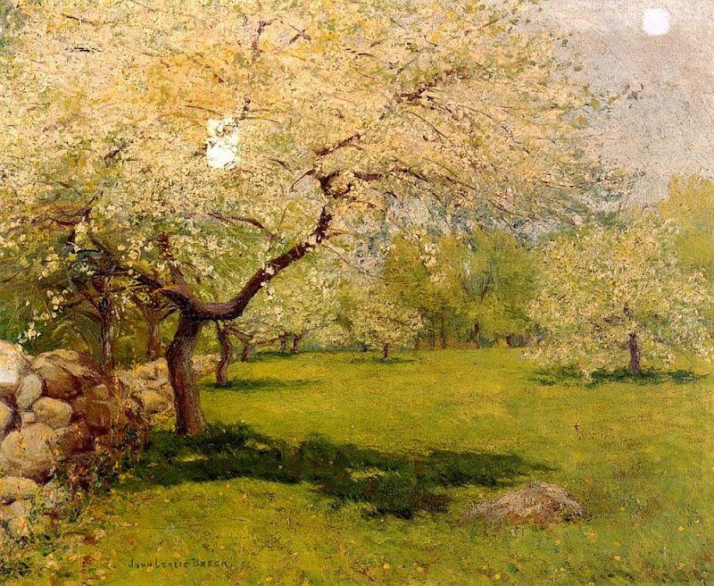 John Breck - Apple Blossoms 1896