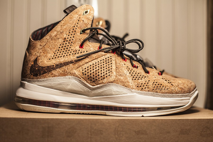 info for 85a26 33de6 Nike Alters MSRP for Nike LeBron X Cork From 305 to 250 ...