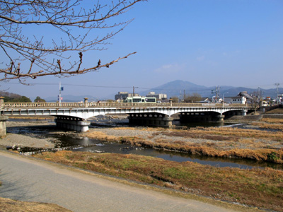 Bridge at Demachiyanagi, Kyoto