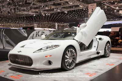 Salão Internacional de Genebra 2011  Carros Incríveis