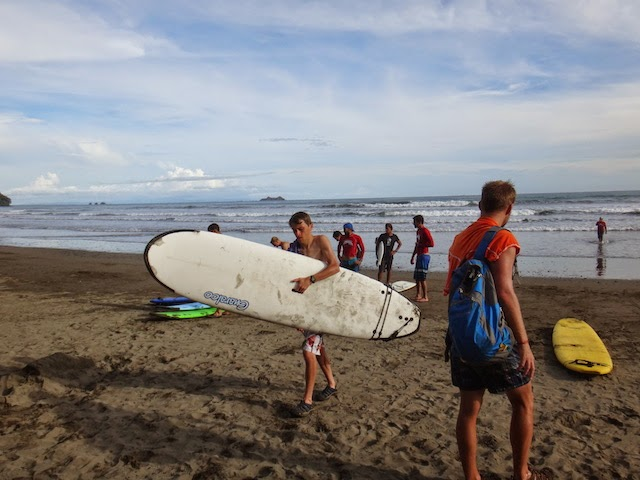 Surfing in Costa Rica. #StudyAbroadBecause the world gets smaller each time you do!