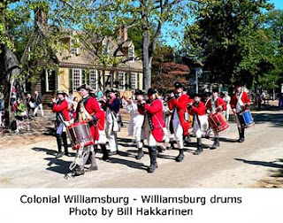Colonial Williamsburg - Williamsburg drums-Bill Hakkarinen