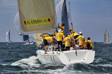 J/130 JING JING sailing Phuket Kings Cup- sailboat regatta in Asia, Thailand