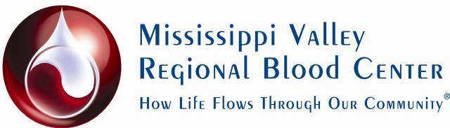 Mississippi Valley Regional Bllod Center Logo