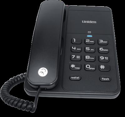 Τηλέφωνο Uniden AS-7202 μαύρο