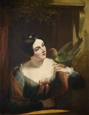Daniel Maclise - The Pet Bird