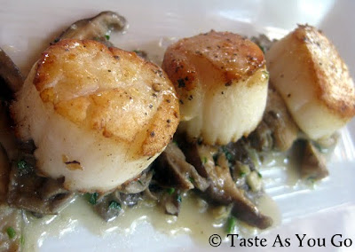 Coquilles St. Jacques at Anis Cafe & Bistro in Atlanta, GA - Photo by Michelle Judd of Taste As You Go