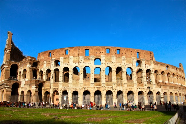 Roma Italy Italia Colosseo