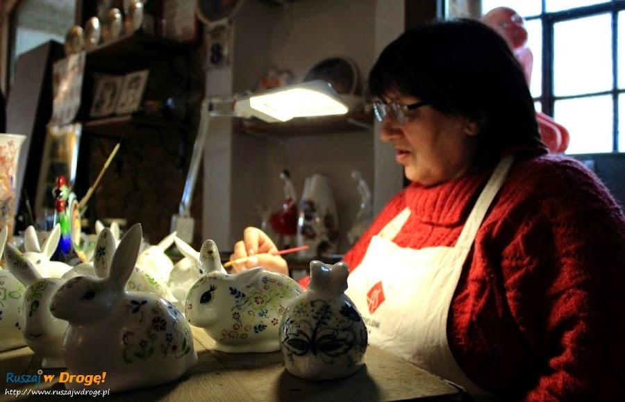 AS Ćmielów - ręcznie malowana porcelana